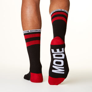 Beast Mode socks bottom right view