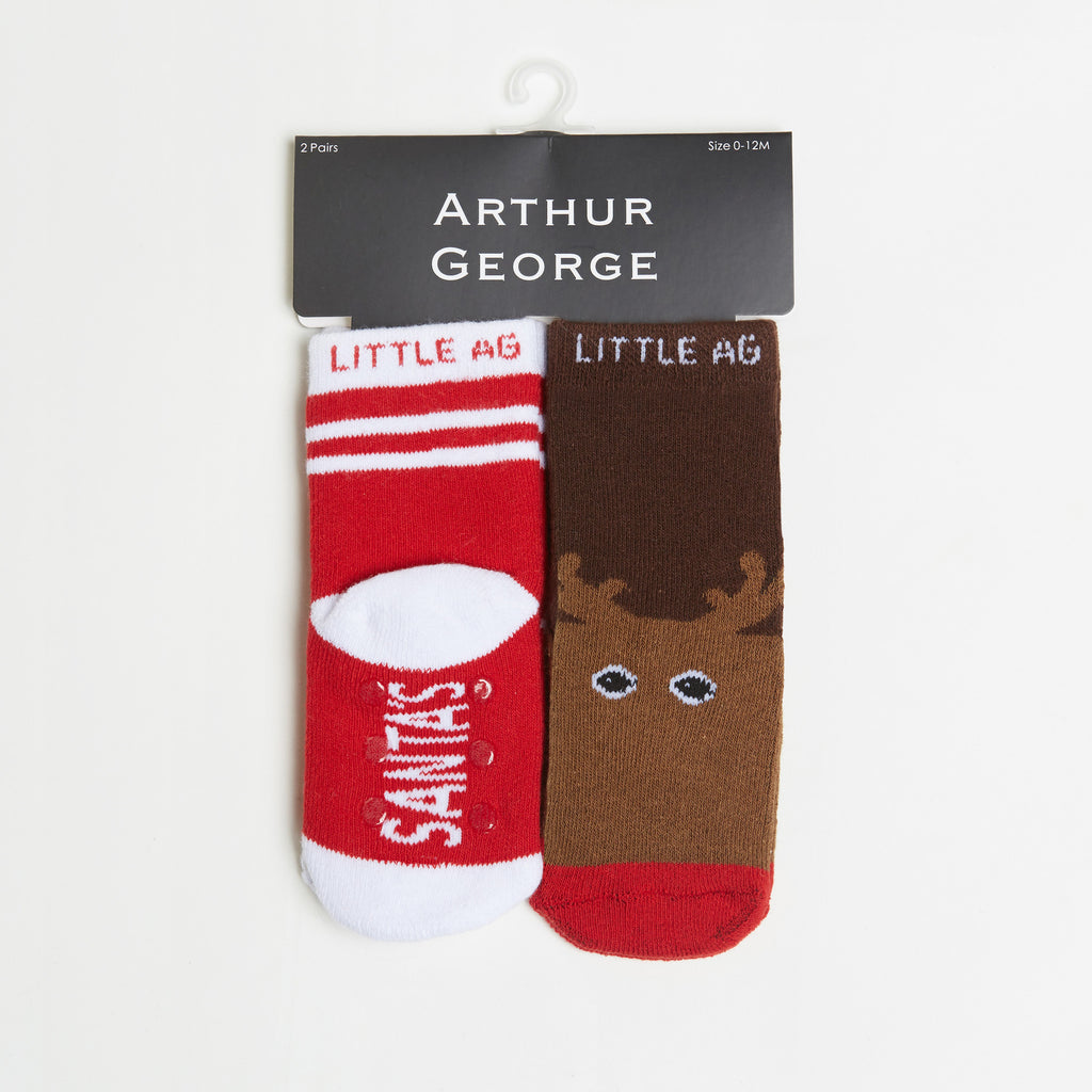 Santa's Helper/Reindeer Kids Socks