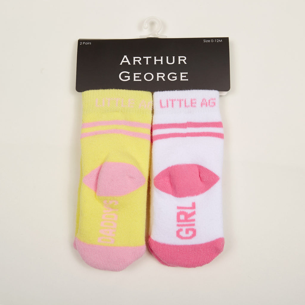 Daddy's Girl Kids Socks - Two Pack