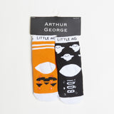 Pumpkin/Ghost Kids Halloween Socks - Two Pack