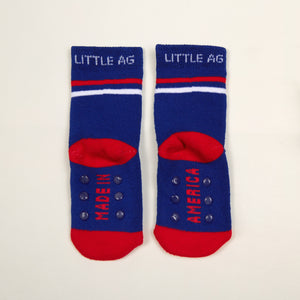Made in America Kids socks two pack bottom back view