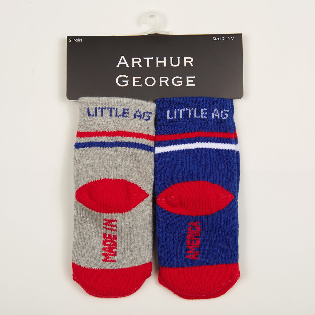 Made in America Kids Socks - Two-Pack
