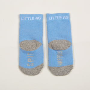 Spit Happens Kids Boys Socks - Two Pack bottom back view