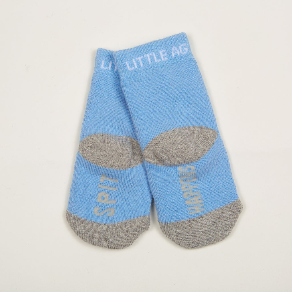 Spit Happens Kids Boys Socks - Two Pack