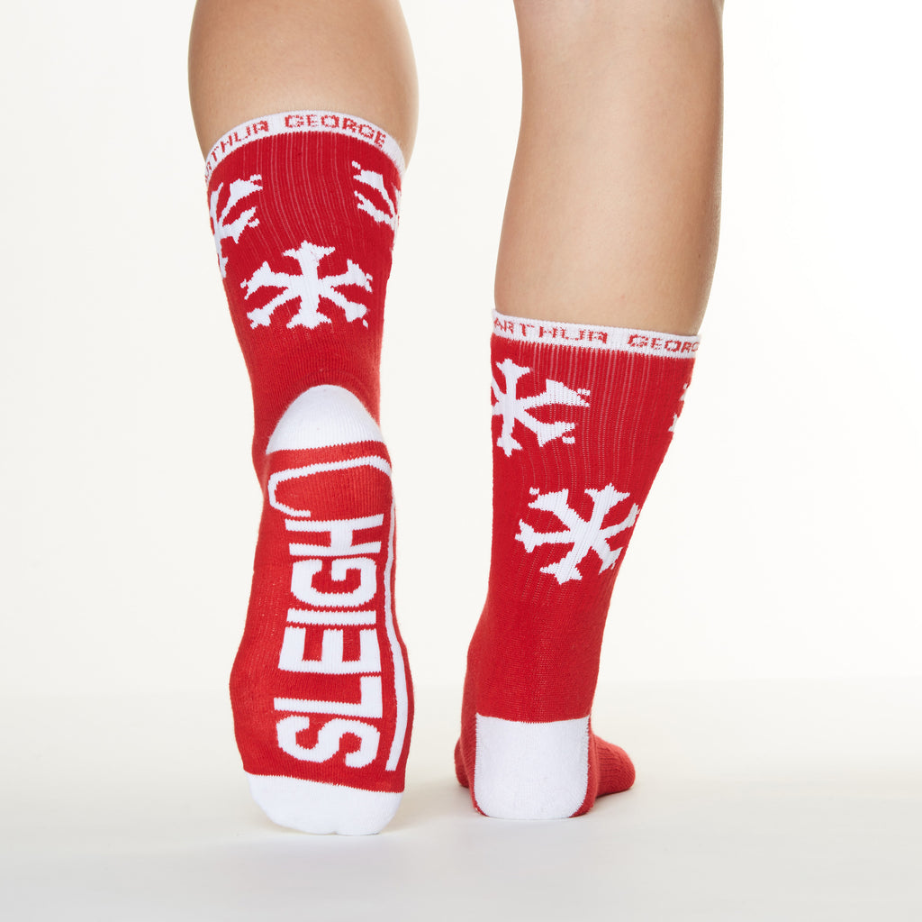 Sleigh All Day Socks