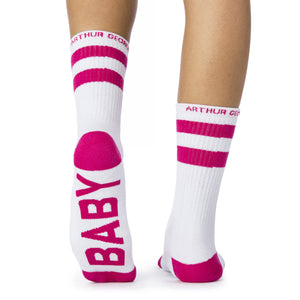 Baby Mama socks bottom left back view  Limited Edition