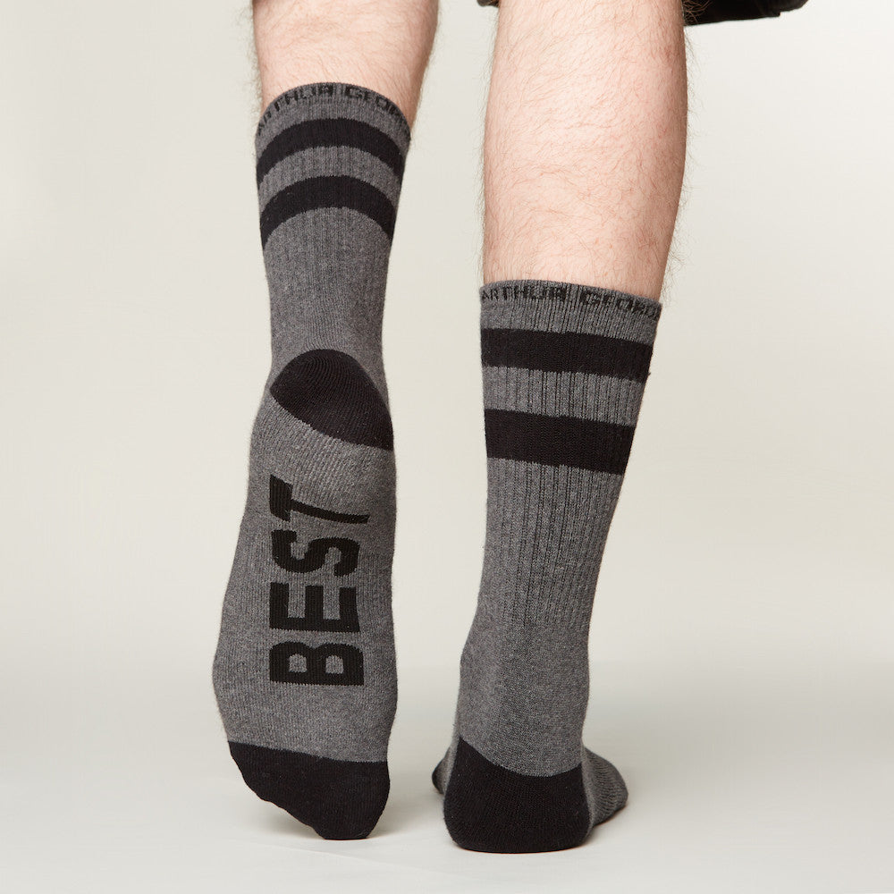 Best Man socks bottom left view