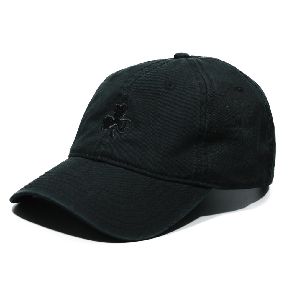 Clover Dad Hat - Black