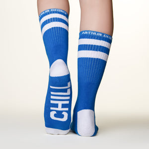 Chill Out socks bottom left back view