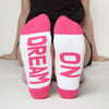Dream On socks bottom front view