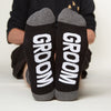 Wedding Sock Set (6 Pairs) - Mens groom bottom front view