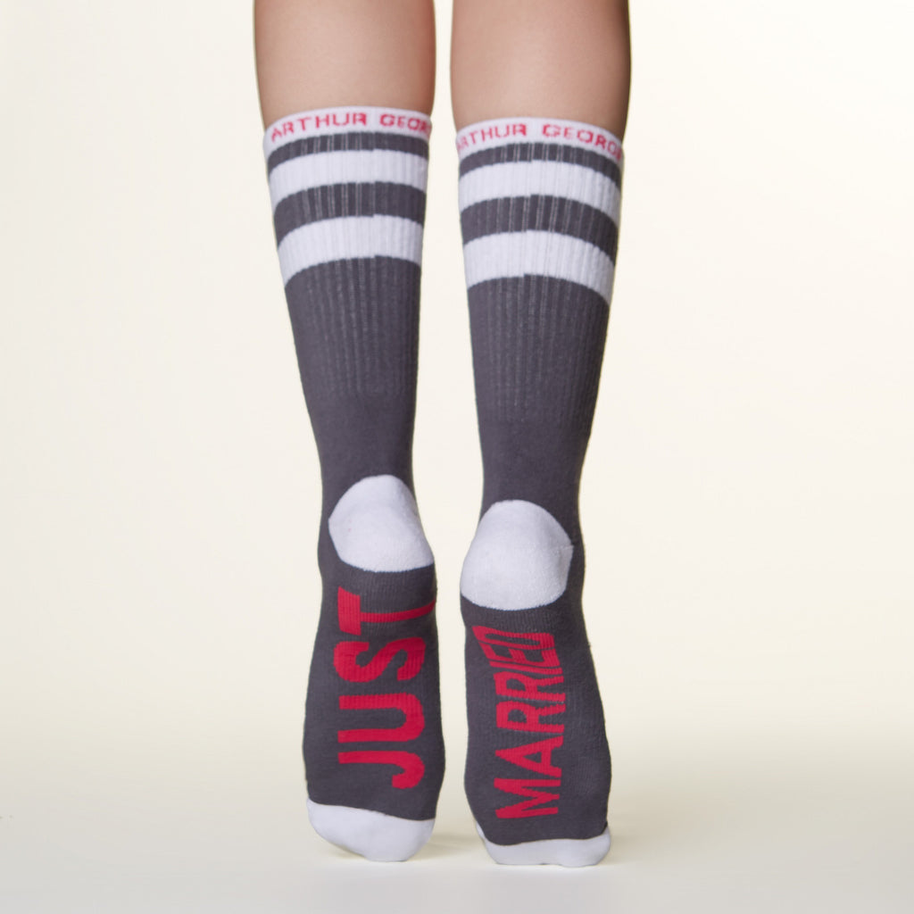 Just Married Socks