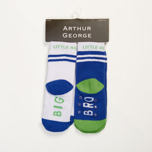Big Bro kids socks two pack bottom view