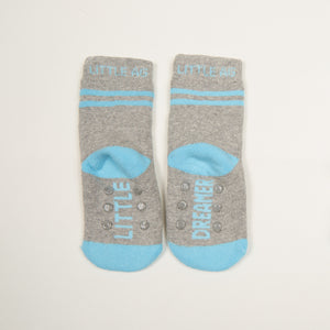 Little Dreamer kids socks boys bottom back view