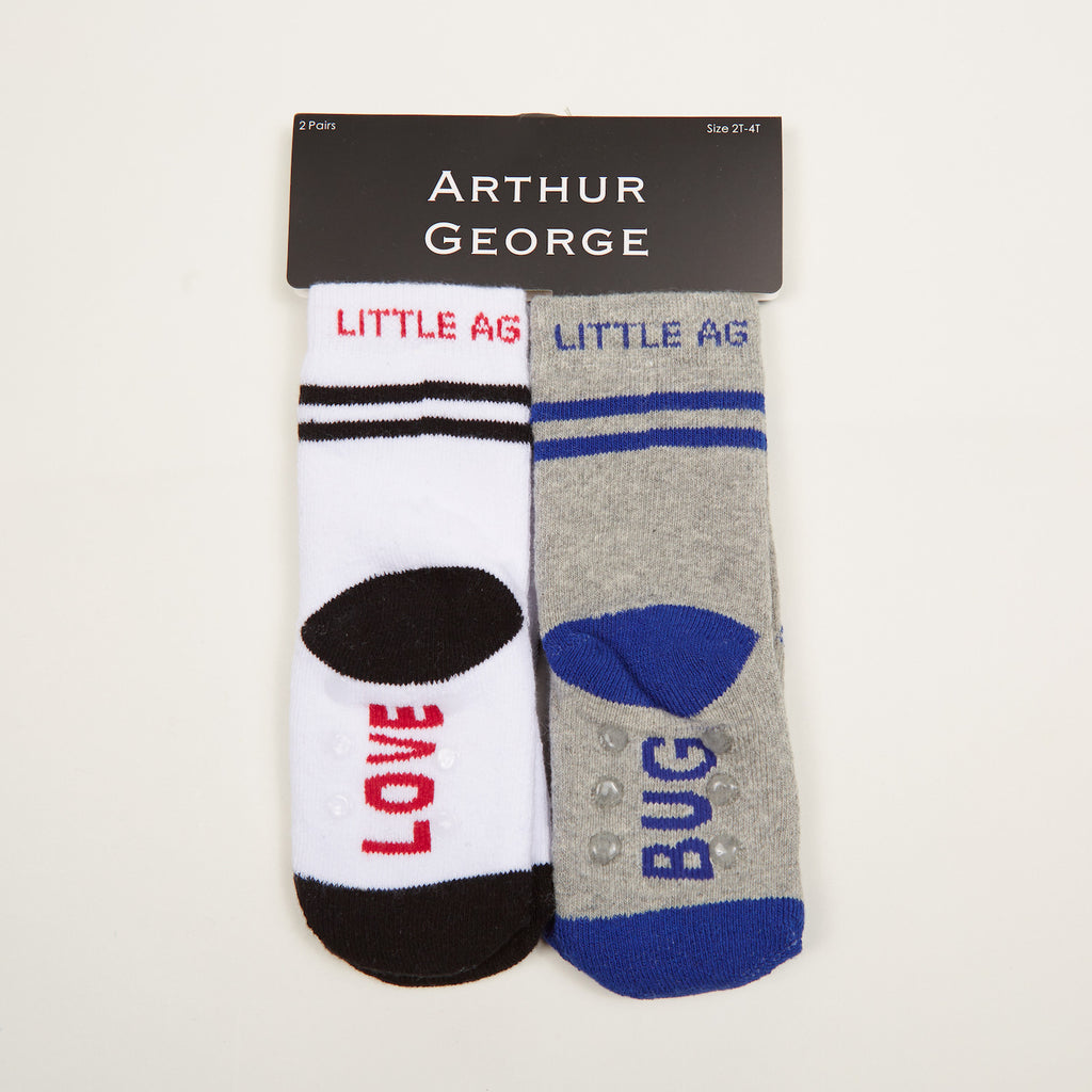 Love Bug Kids Socks - Two-Pack