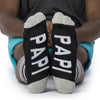 Papi socks bottom front view