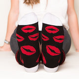 Red Lips Socks