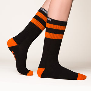 Trick or Treat socks side profile view