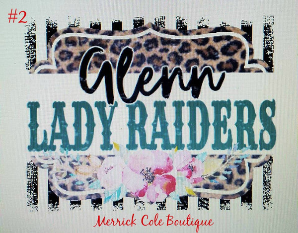 Glenn Lady Raiders Spirit Tee