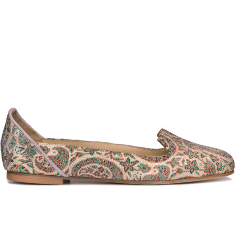 Rose Garden of Isfahan Pink Ballet Flats