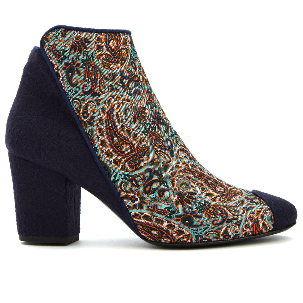 Heel Ankle Boots, Eden of Yazd Ankle Boots - Boté A Mano