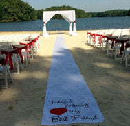 Outdoor Ceremony Set up - Make Me Elegant