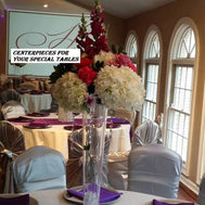 Centerpieces call to order 678-575-9590 - Make Me Elegant
