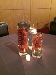 Crystal Vases- Centerpieces Candy Station For Rent - Make Me Elegant