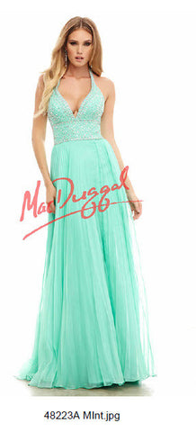 Ice Princess Gown by MacDuggal - Make Me Elegant