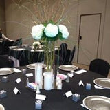 Centerpieces Ideas Fresh Flowers Silk Flowers - Make Me Elegant