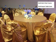 Universal Chair Covers Self Tie Chair Covers - Make Me Elegant