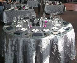 Table Linen - Pintuck variations call to order 678-575-9590 - Make Me Elegant