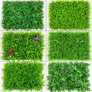 Artificial Green Plant Lawns Carpet for Home Garden Wall Backdrop