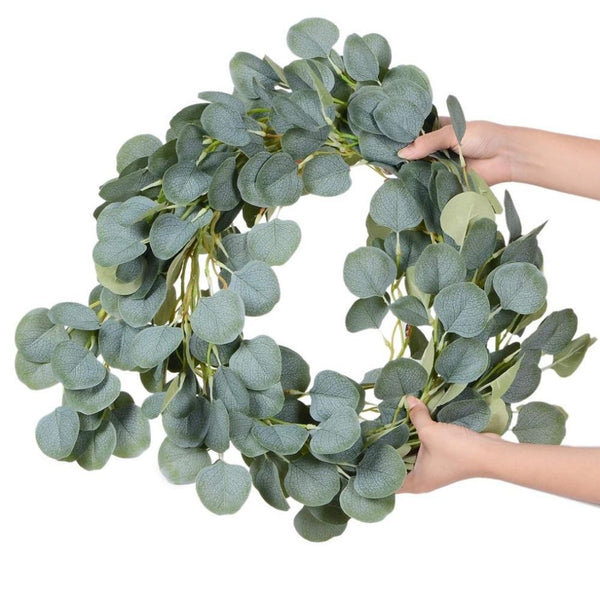Wedding Decoration Artificial Plants Green Eucalyptus Vines Rattan