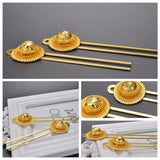 Hair Sticks Jewelry Pure Gold Color African Sticks Habasha Style - Make Me Elegant