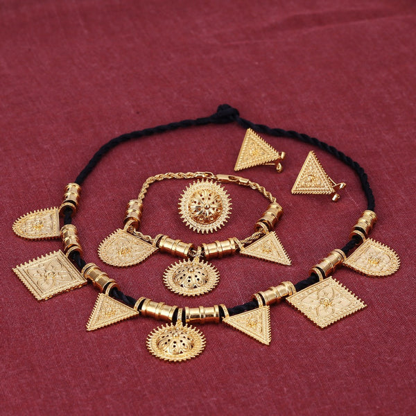 Jewelry  Set 24k Gold Color Habesha Sets Wedding - Make Me Elegant