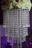 Free Shipping Wedding crystal table flower stand table centerpiece 8PCS/lot