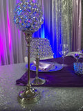 Crystal Vases - Centerpieces  for Rent - Make Me Elegant