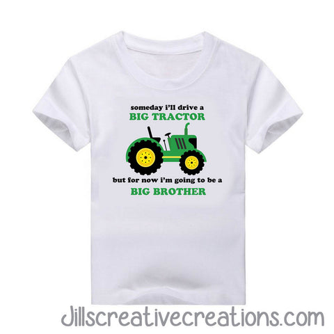 Big Brother T-shirt, T-Shirts, Tractors