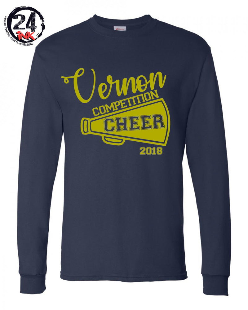 Competition Cheer Shirt, Vernon