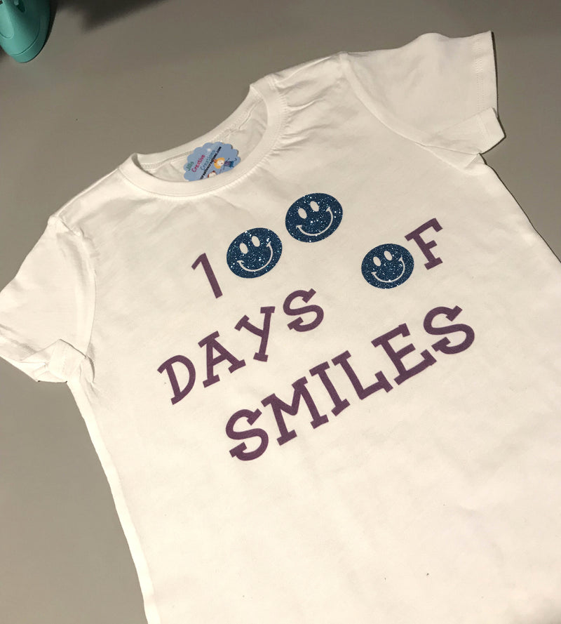 100 Days of Smiles T-Shirt