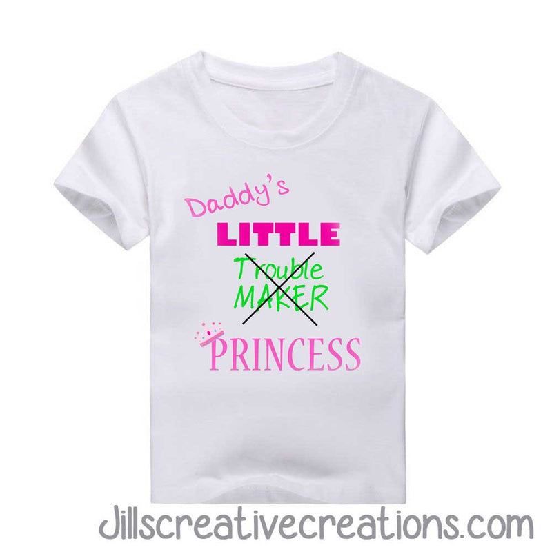 924a6b6cc Daddy's Little Princess T-Shirt – 24 Ink