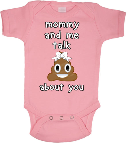Mommy and me talk about you bodysuit
