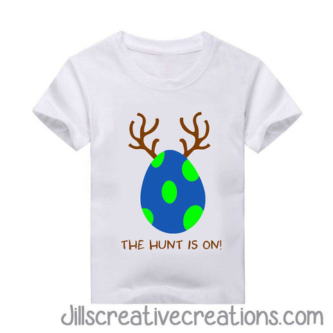 Easter Hunt is on T-Shirt