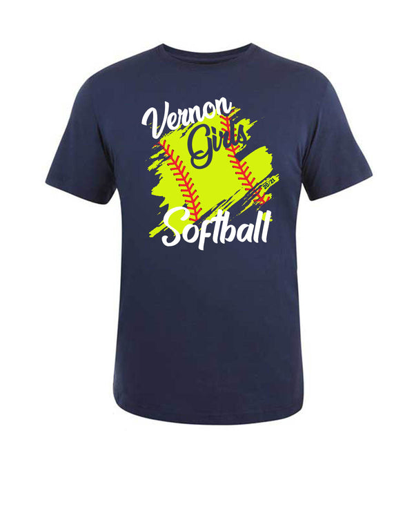 Vernon Girls Softball T-shirt