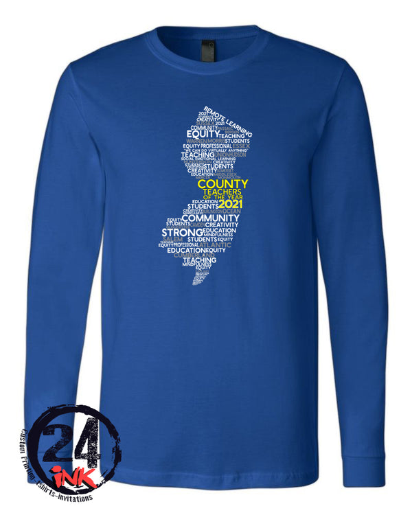 Teacher of the Year Long Sleeve Shirt