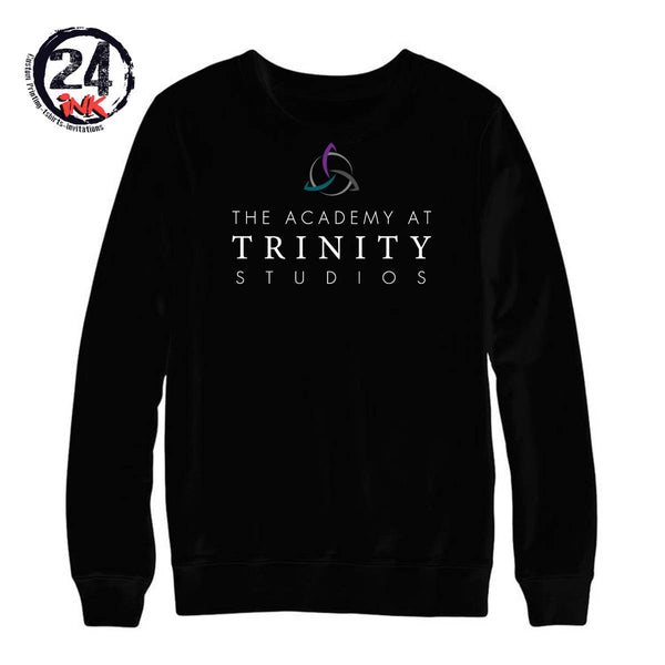 The Academy at Trinity non hooded sweatshirt