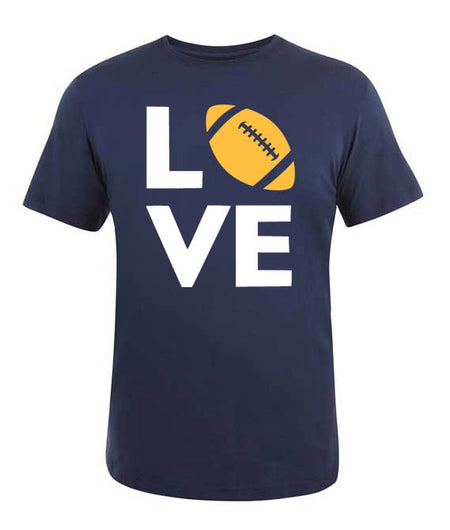 Football School Spirit T-Shirt, Love
