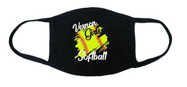 Vernon Girls Softball Face Mask, Masks