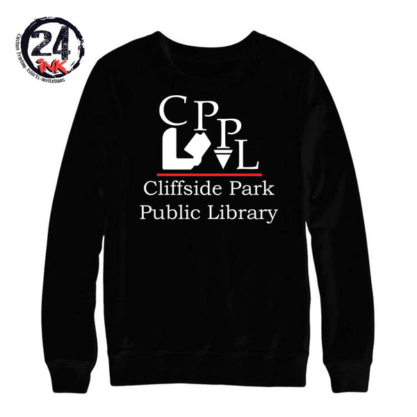 Cliffside Park Library non hooded shirt, Business